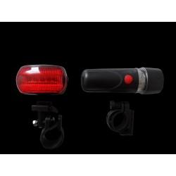 Oświetlenie rowerowe zestaw 2